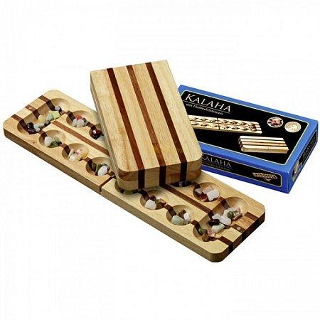 """Игра """"Калах"""", орех и дуб, складная, 49 см. Philos 3127"""