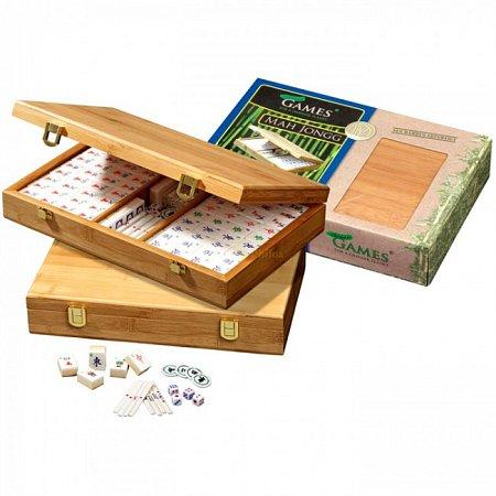 Игра Маджонг с арабскими символами, бамбук и кость. Philos 3168