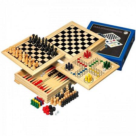 Игры из дерева, дорожный набор. Philos 3104