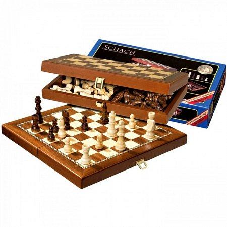 Шахматы дорожные, магнитные, 29,5х15х5 см. Philos 2712