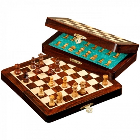 Шахматы дорожные Star, магнитные, 18х9х4 см. Philos 2721