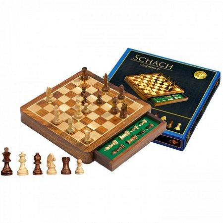 Шахматы Exclusive, магнитные, 30х30х4,5 см. Philos 2725