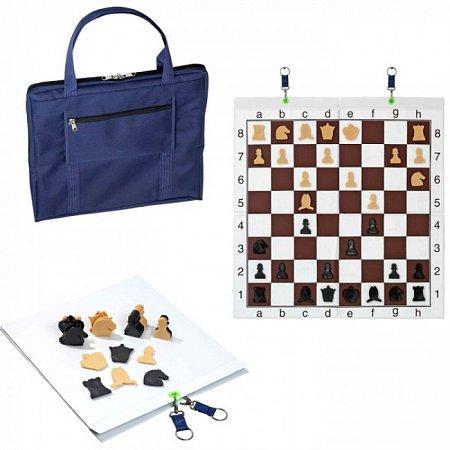 Шахматная демо доска с сумкой. Philos 2751