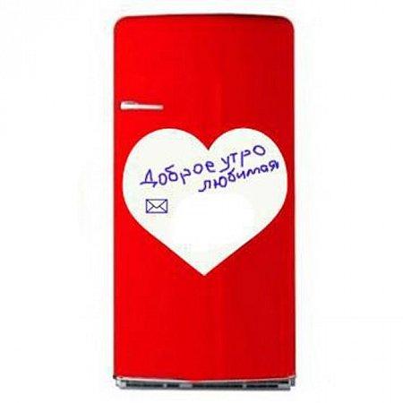 Магнитная доска с маркерами на магнитах Сердце, magnit-3