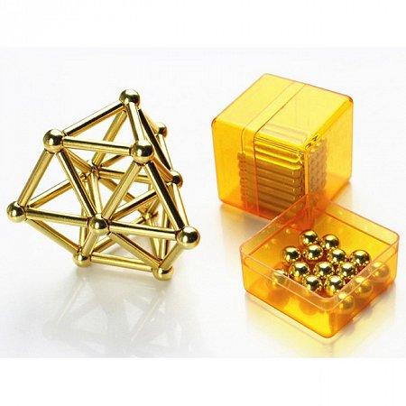 Неокуб Мастер, Золото (Buckybars & BuckyBalls - Gold Neocube)