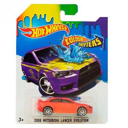 2008 Lanser evolution, Машинка Измени цвет, Hot Wheels, Mattel, 2008 Lanser evolution, BHR15-14