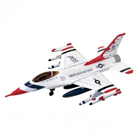 4D Master - Объемный пазл Истребитель F-16C Thunderbirds (Буревестники), 26204