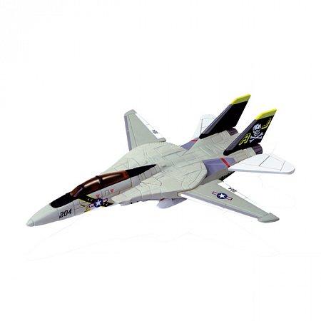 4D Master - Объемный пазл Истребитель-перехватчик F-14A VF-84 Jolly Roger(Веселый Роджер), 26200