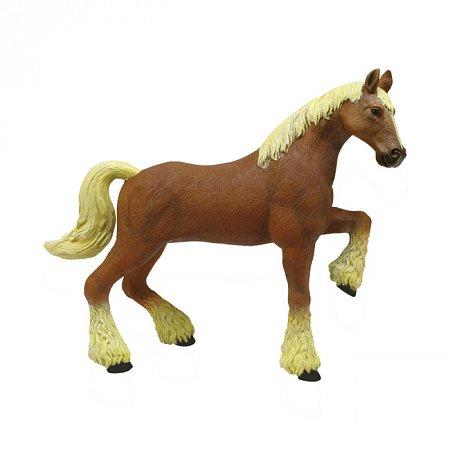4D Master - Объемный пазл Лошадь тяжеловоз коричневая (26527)