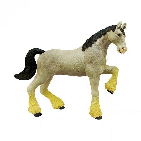 4D Master - Объемный пазл Лошадь тяжеловоз серая (26528)