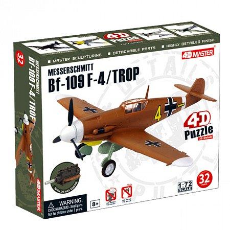 4D Master - Объемный пазл Самолет BF-109 Messerschmitt F-4/TROP (26907)