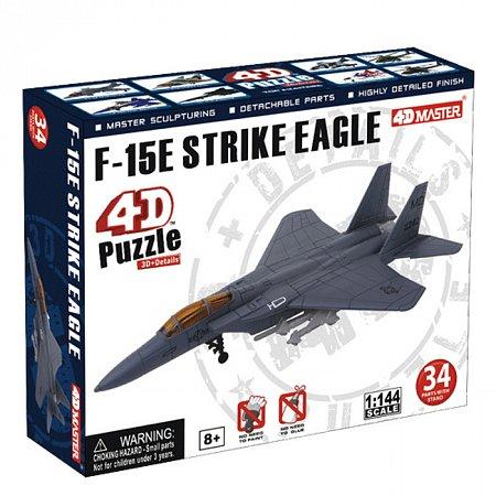 4D Master - Объемный пазл Самолет F-15E (26230)