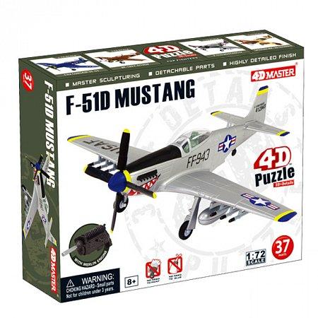 4D Master - Объемный пазл Самолет F-51D Mustang (26902)