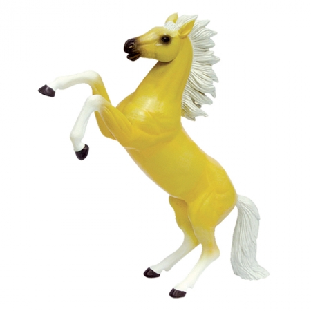 4D Master - Объемный пазл Скачущая кремовая лошадь (26525)