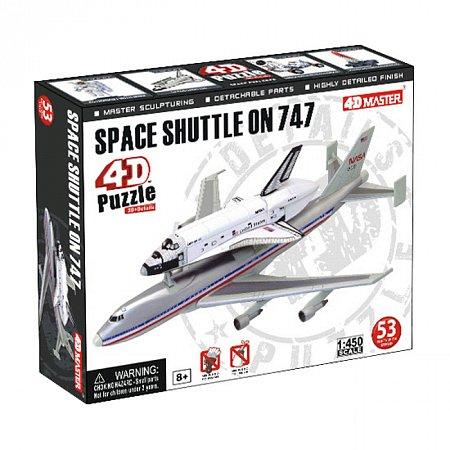4D Master - Объемный пазл Спейс Шаттл на Боинг 747 (26375)