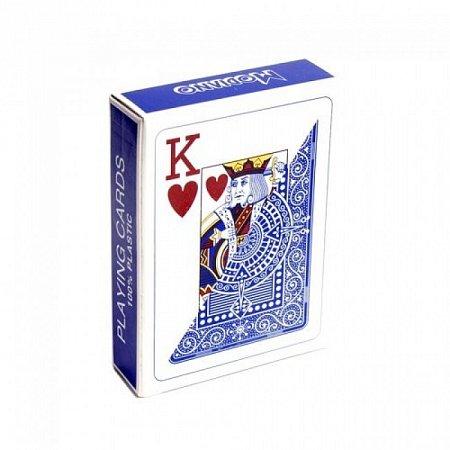 Профессиональные пластиковые карты Modiano Texas Poker, blue