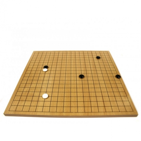 Игра Го. Комплект Excellent - 2 (доска 15 мм, камни 22 мм)