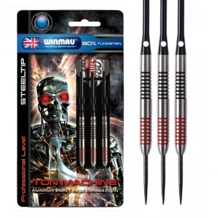 Дротики Winmau Ton Machine 80% tungsten 24g