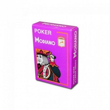 Изображение - Пластиковые карты Modiano 4 Jumbo Index, violet