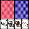 Пластиковые карты Modiano Poker Index, light blue