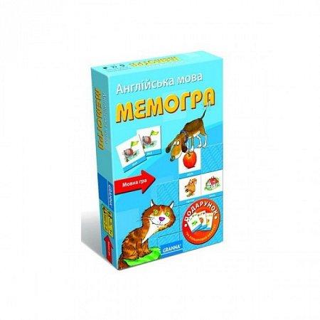 Настольная игра Мемогра (англ.) (2 в 1). Granna