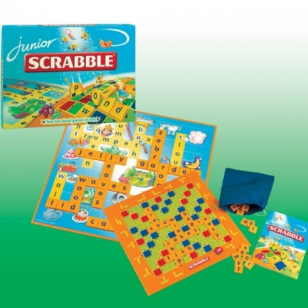"""Настольная игра """"Scrabble Junior """" (Скрабл для детей, русс.яз)"""