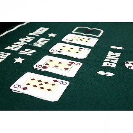 Сукно для покера Техасский холдем 160 х 100 см