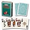 Пластиковые карты Modiano Texas Poker, dark green