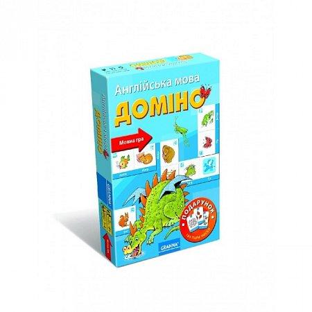 Настольная игра Домино (англ.яз) (81077) Granna