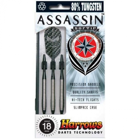 Дротики Harrows Assassin softip 18 grm