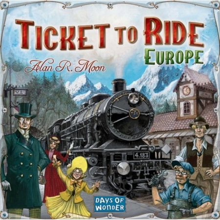 Ticket to Ride Europe (Билет на поезд. Европа) на английском. Days of Wonder (7202)