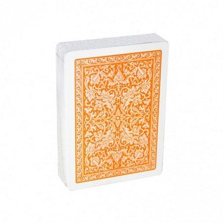 Пластиковые карты Fournier 2818 оранжевые
