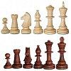 Шахматные фигуры Стаунтон №4 в пакете, король 80 мм (3185)
