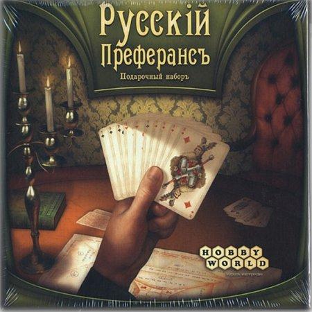 Настольная игра Русский Преферанс: Подарочный набор. Hobby World (1140)