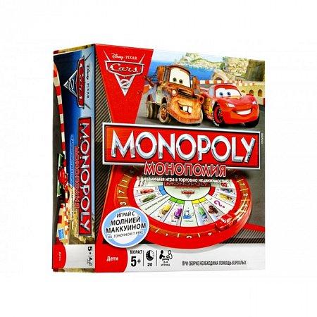 Настольная игра Монополия Тачки 2