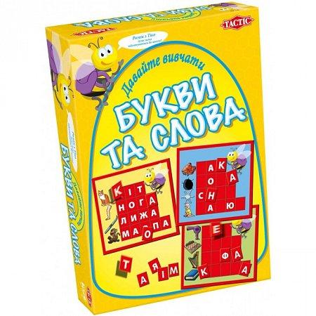 """Настольная игра """"Давайте изучать буквы и слова"""" Tactic 40301 Tactic"""