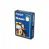 Пластиковые карты для покера Modiano Cristallo 4 Jumbo Index Blue