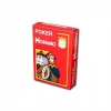 Пластиковые карты для покера Modiano Cristallo 4 Jumbo Index Red