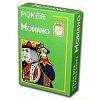 Пластиковые карты для покера Modiano Cristallo 4 Jumbo Index Light Green