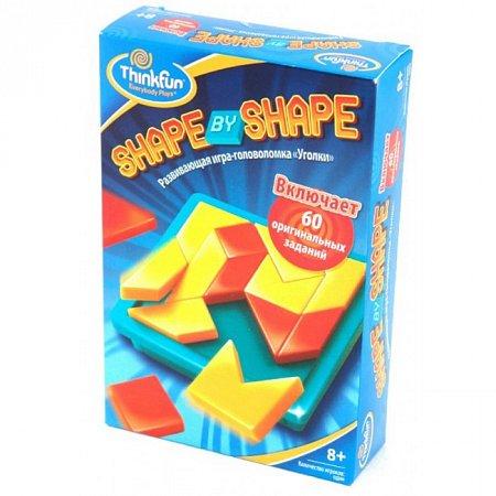 """Игра-головоломка """"Уголки"""", Shape by shape"""