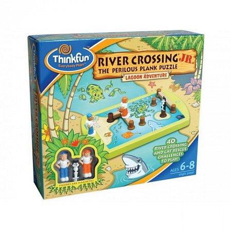 Игра-головоломка Переправа для малышей, River crossing JR