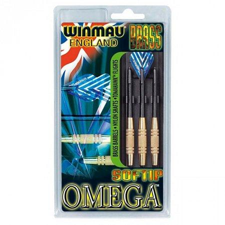 Дротики Winmau Omega brass softip 18g