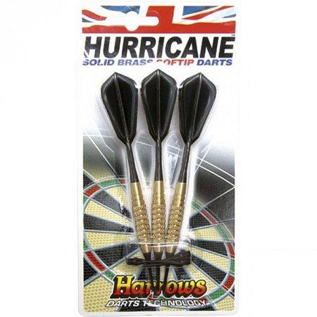 Дротики Harrows Hurricane brass softip 18g