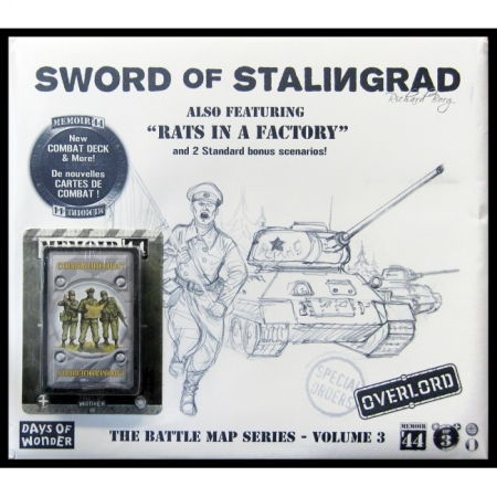 Настольная игра Memoir44: OP3 Battle Map - The Sword of Stalingrad/Rats in a Factory