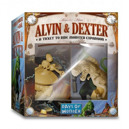 "Дополнение ""Ticket to Ride: Alvin & Dexter"""