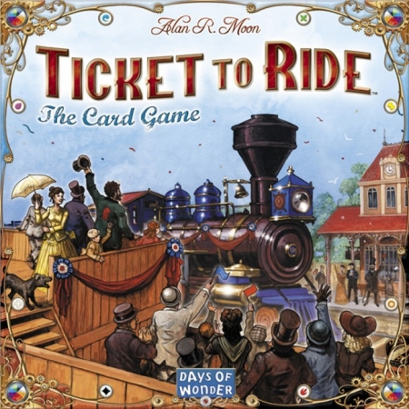 """Карточная игра """"Ticket to Ride: The Card Game"""""""