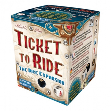 Дополнение Ticket to Ride: Dice Expansion. Days of Wonder (720110)