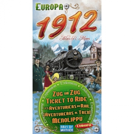 "Дополнение ""Ticket to Ride: Europa 1912"""