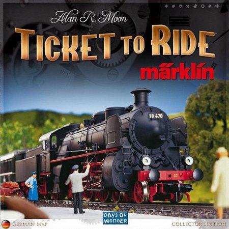 Настольная игра Ticket to Ride: Marklin Edition. Days of Wonder (7205)