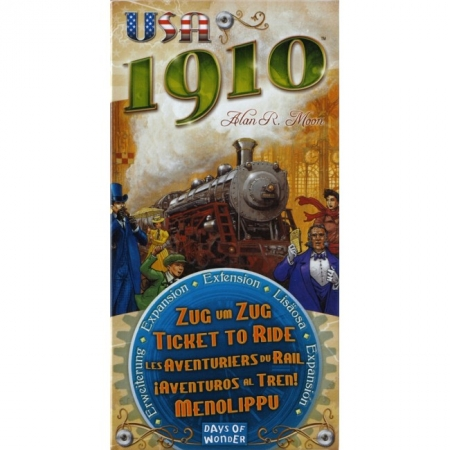 Дополнение Ticket to Ride: USA 1910. Days of Wonder (7216)